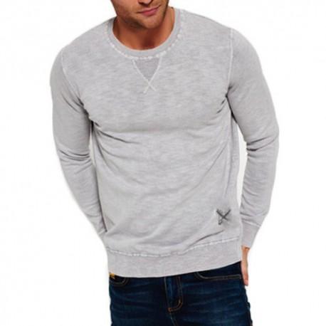 Levi's sweter męski wełna szary lev1 L