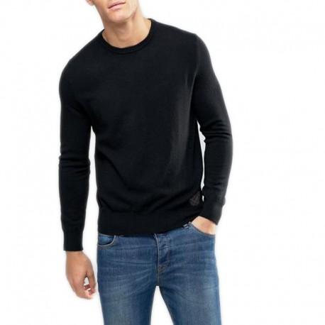 Levi's sweter czarny męski gładki lev3 XL