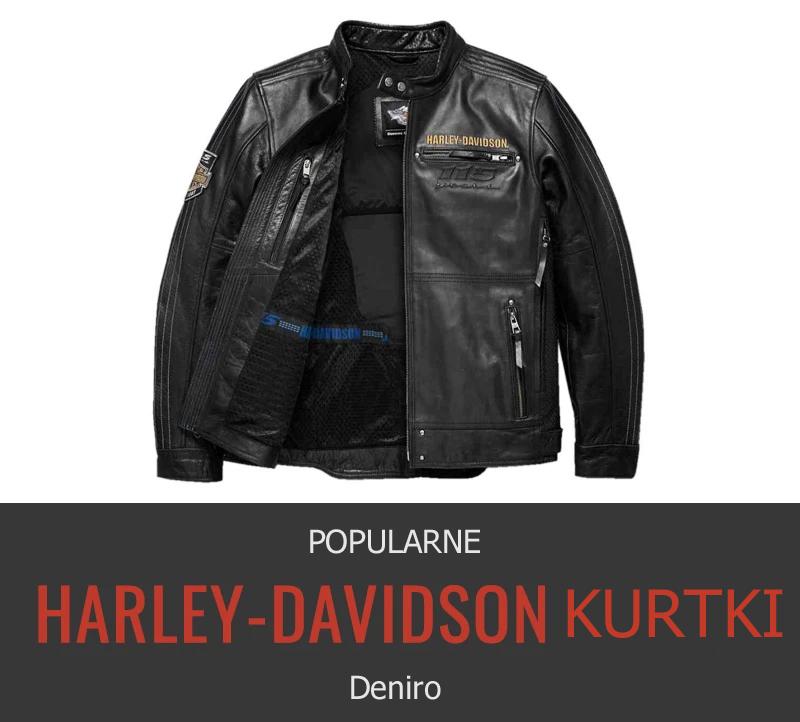 Harley Davidson kurtka skórzana męska sklep