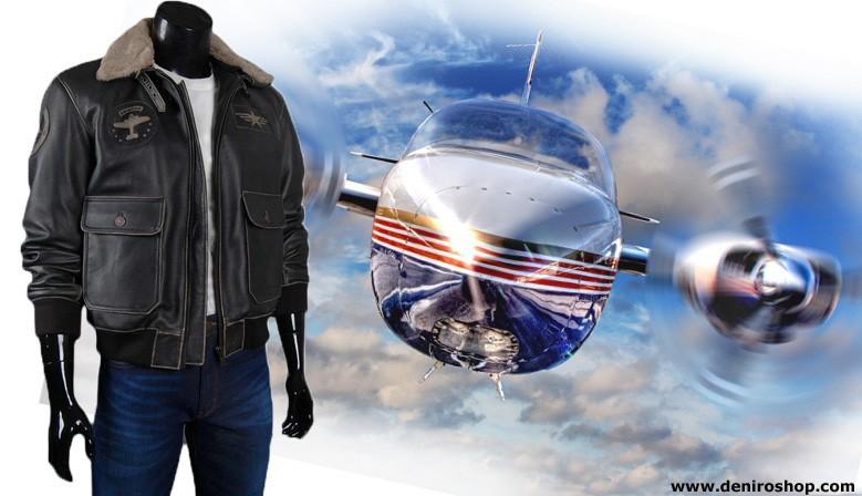 kurtka pilotka z naszywkami